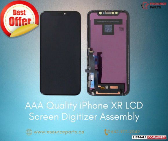 AAA Quality iPhone XR LCD Screen and Digitizer Assembly