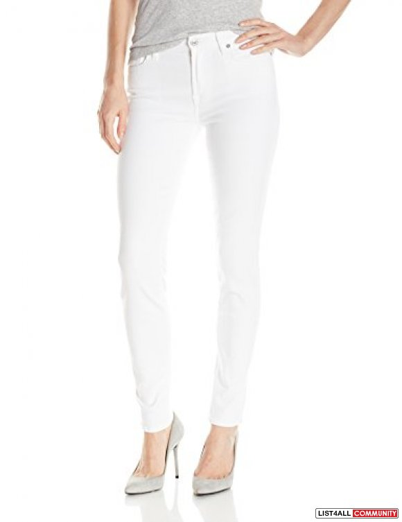 7 For All Mankind The Skinny in Clean White (Size 26)