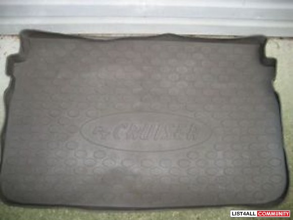 Pt Cruiser Protective Rear Plastic Floor Tray Gojigal