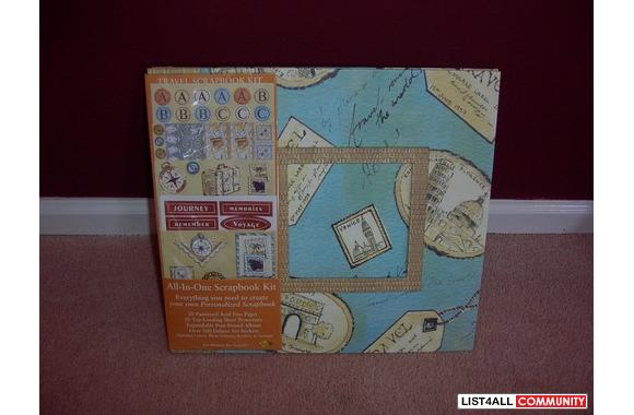 All in one Travel Scrapbook Kit - Retail $32