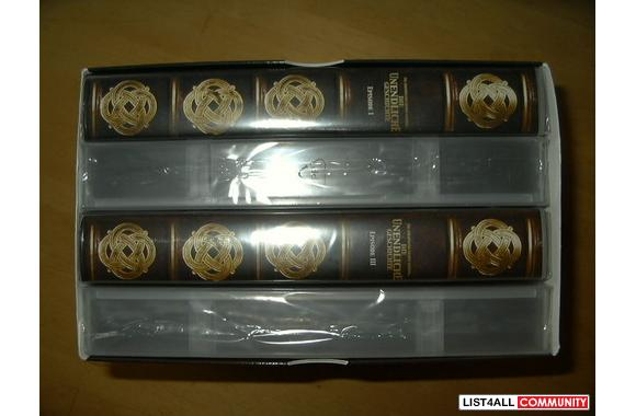 German-Box of 4 VHS/PAL movies- Never Ending Story Part 1-4