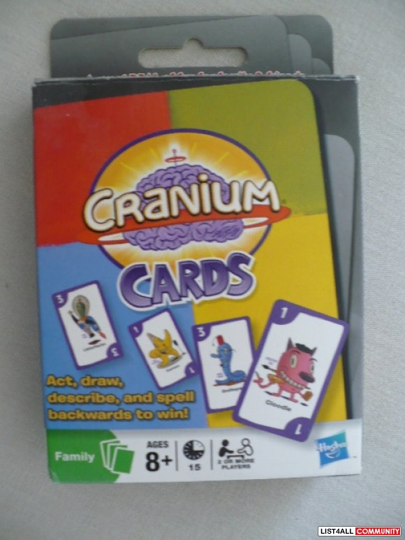 Cranium Cards Family Game