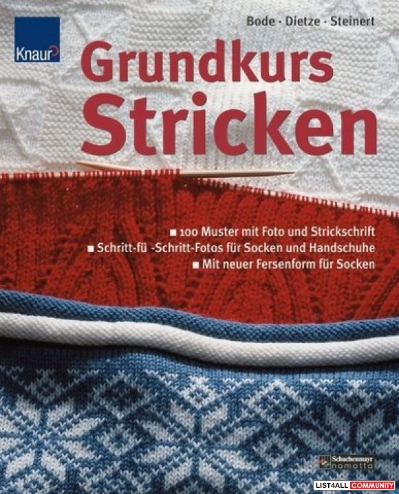 Grundkurs Stricken.