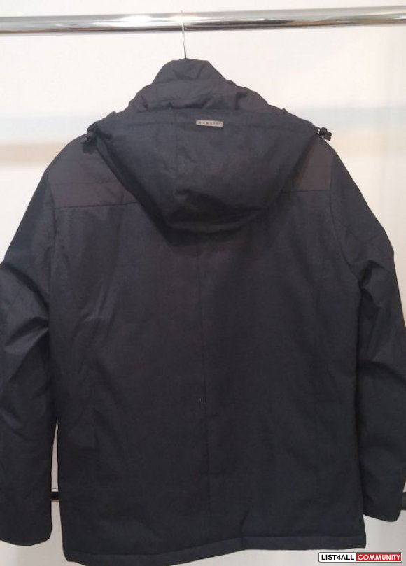 nwt Men Bugatti Hooded Jacket navy 36R -  $698