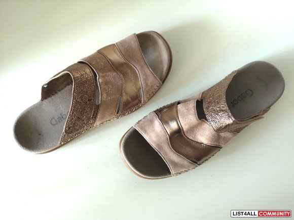 Gabor Leather Sandals Size 10