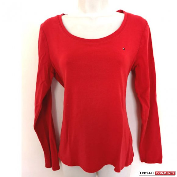 Tommy Hilfiger Cotton Top red M