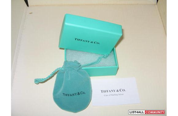 Tiffany & Co 925 Silver 1837 Earrings