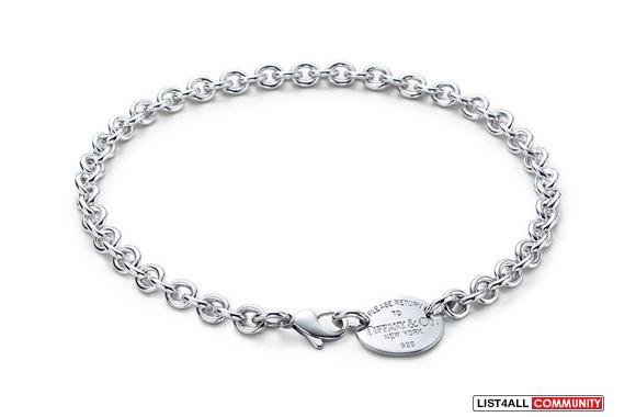 Oval Return to Tiffany Neckless 925 Silver