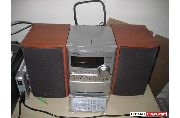 Sony Mini Stereo Mystuff4sale List4all