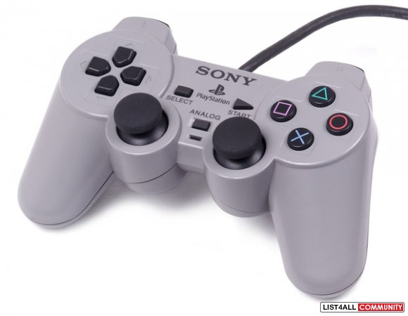 Playstation ps1/ps2 Dual Shock Analog Game Controller