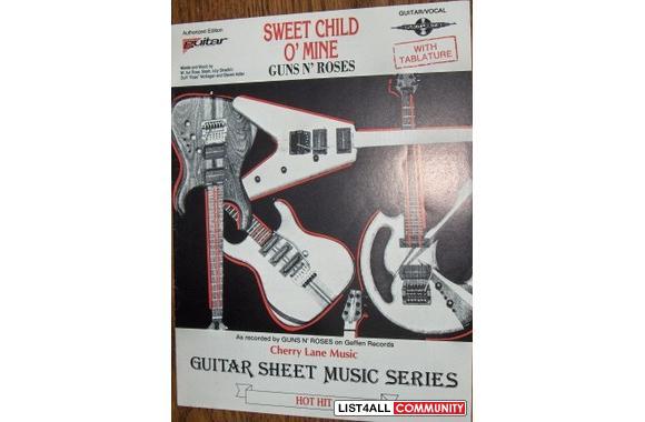 guns n 39 roses sweet child o 39 mine guitar tab sheet music t 87 list4all. Black Bedroom Furniture Sets. Home Design Ideas