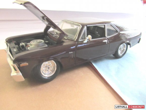 BOXED MAISTO SPECIAL EDITION 1970 CHEVROLET NOVA 'SS' COUPE 1:24 SCALE
