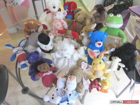 LARGE LOT BABY/CHILD TOYS/Animals- Nonsmoking/no pets! Deals...Deals