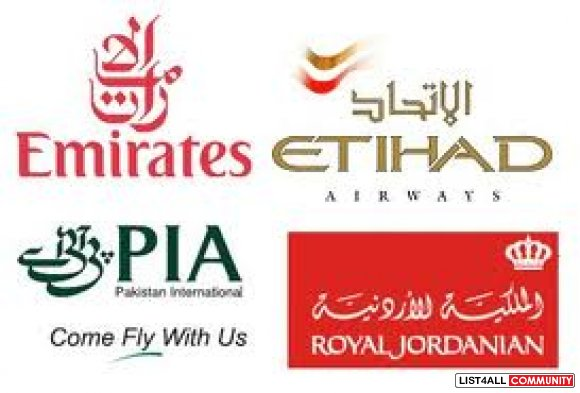 Cheap air tickets for domestic and international flights, from all lea