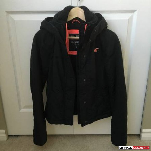 Hollister all weather jacket bunnipop list4all for Hollister live chat