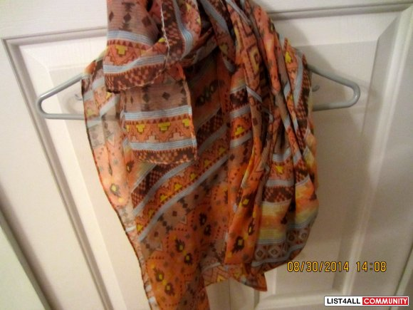 Forever 21 Tribal Scarf