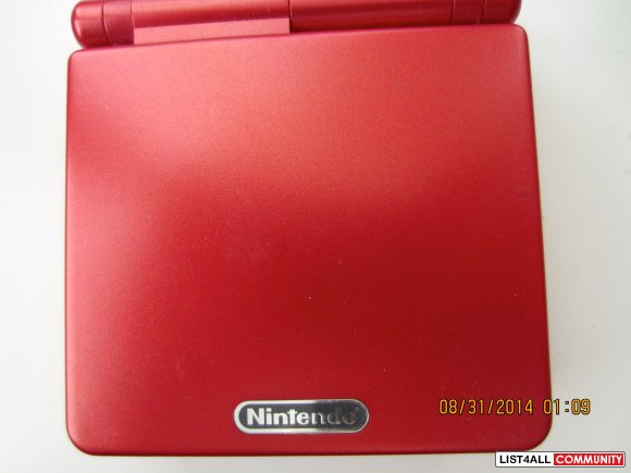 Red Gameboy SALE FOR $10