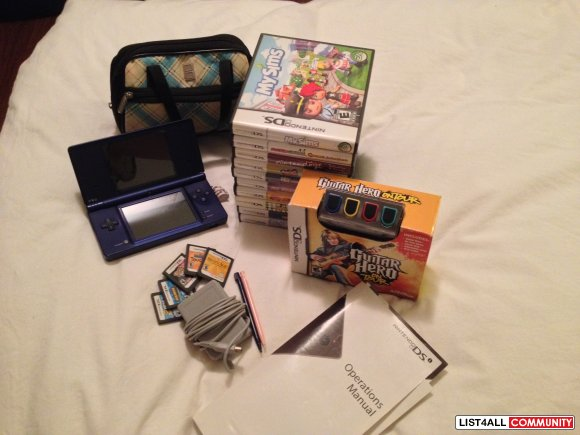 Nintendo DSi for sale! Includes everything! - $150 (surrey bc)