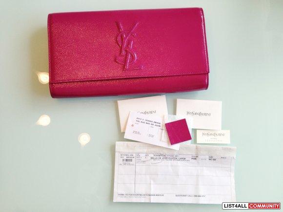 ysl laurent bag - yves saint laurent pink patent