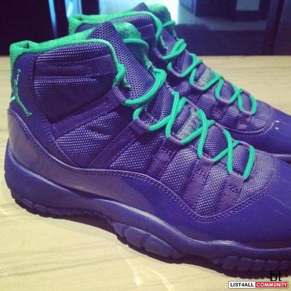 d1e16d3f5efb56 Koonba Shoox AAA Air Jordan 11 Violet Shoe    annakoo    List4All