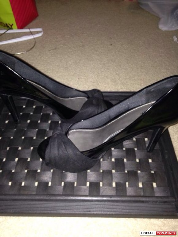 Never been worn black heels !