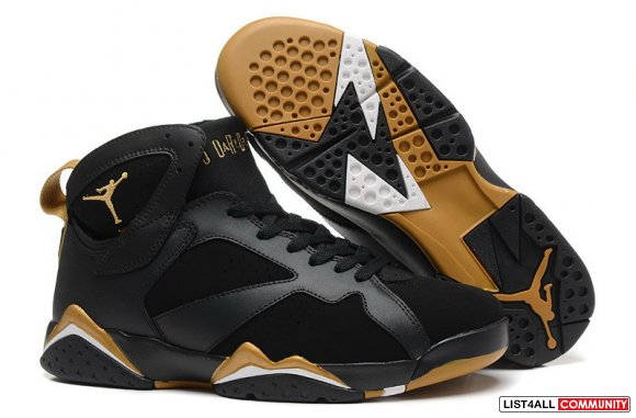 Air Jordan 7 Retro Khaki Black White Cheap Sale,www.cheapsjordan7.biz