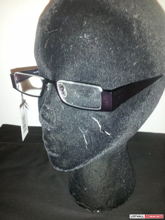 Brand New Matte Purple Metal Framed Fashion Readers