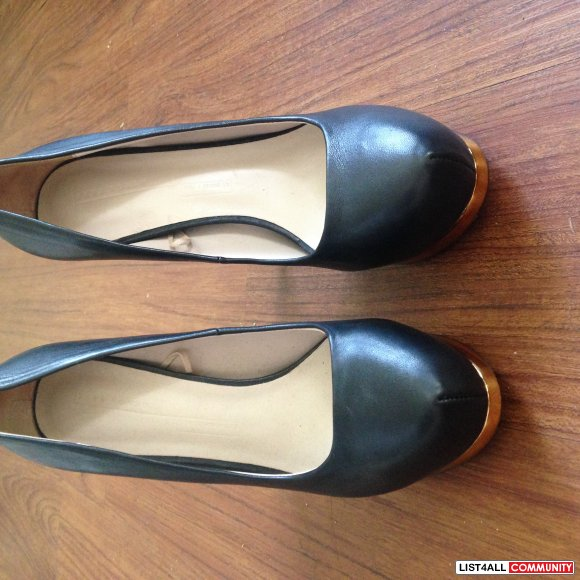 ZARA SZ 88.5 BLACK PUMPS