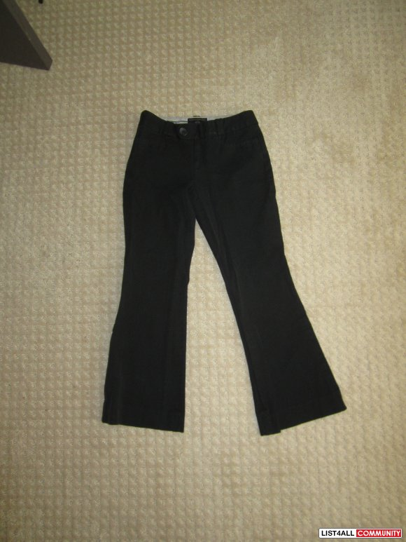 Banana Republic Black Dress Pants, Size 2P