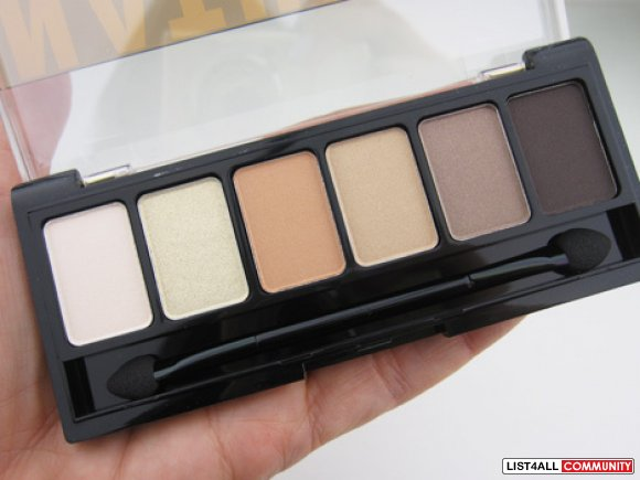 NYX Eyeshadow Palette in Natural