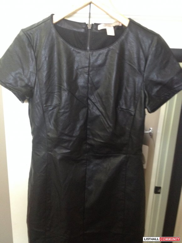 BNWT Forever 21 Leather Dress - Size small