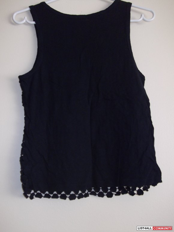 black blouse new size M-