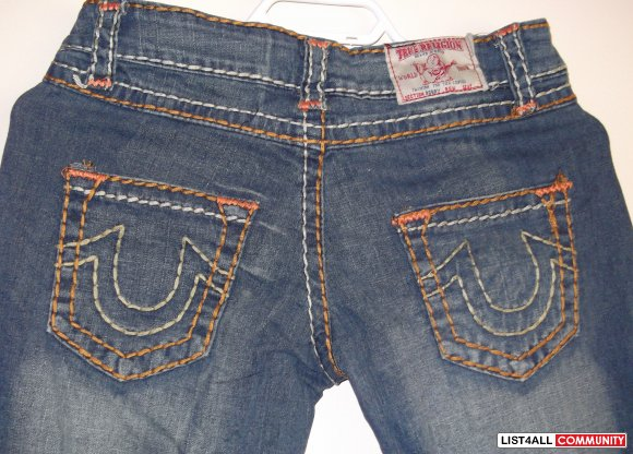 TRUE RELIGION- reduced ar $50 now