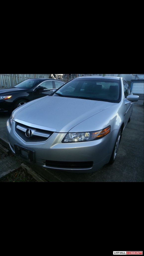 2004 Acura TL 128800km, auto. ,3.2L , $10,000(Offers are welcome)