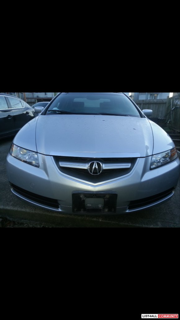 2004 Acura TL 128800km, auto. ,3.2L , Offers are welcome