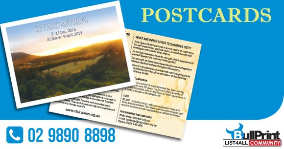 Postcard Printing Service to Promote Your Business