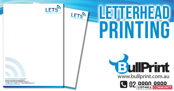 Letter Head Printing Service Online