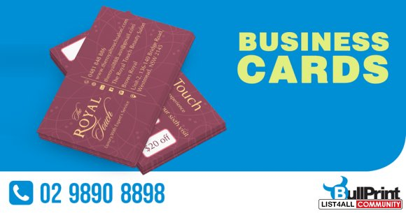 Business Card Printing Individuals & Companies
