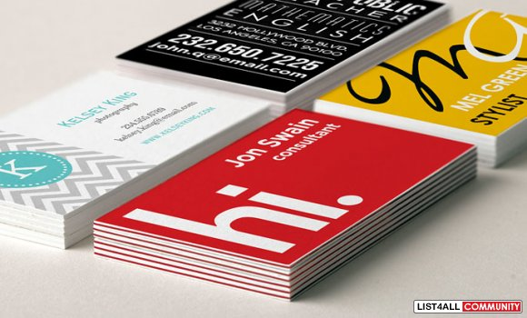 Distinctive Business Cards Printing Online