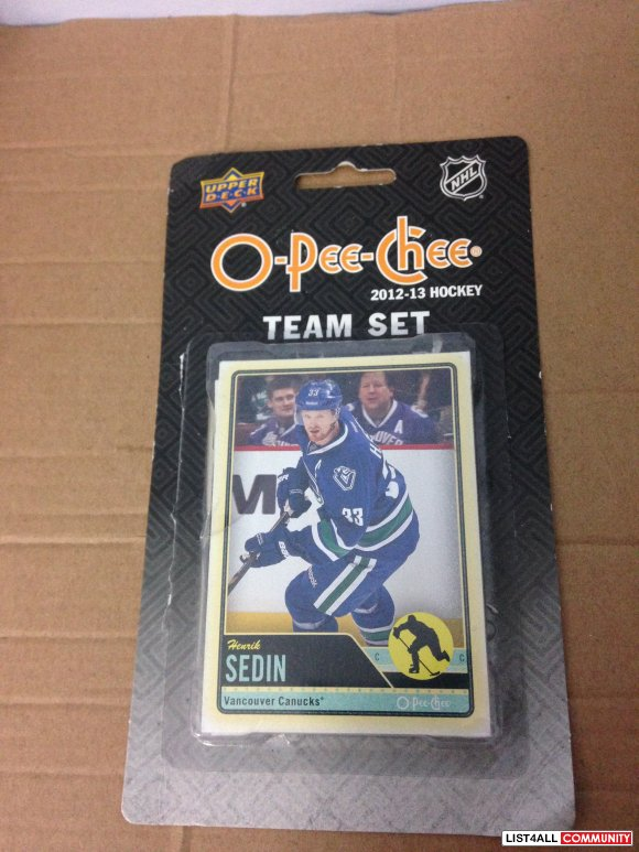 Vancouver Canucks Hockey Cards [reduced to $5]
