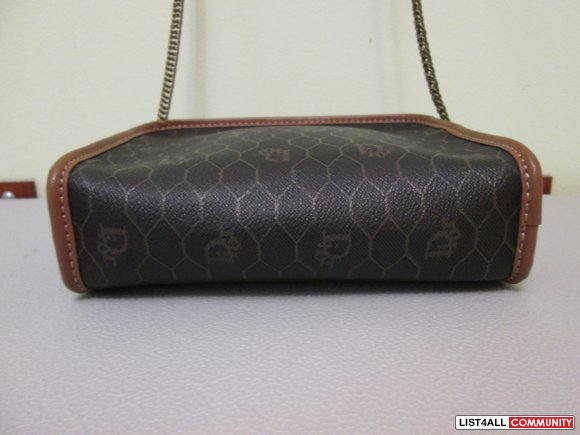 Authentic CHRISTIAN DIOR Mini Crossbody Bag/Clutch
