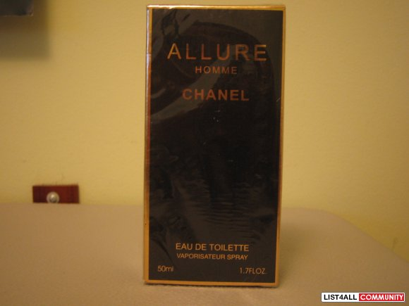 Auth Chanel Allure Homme Men's Fragrance
