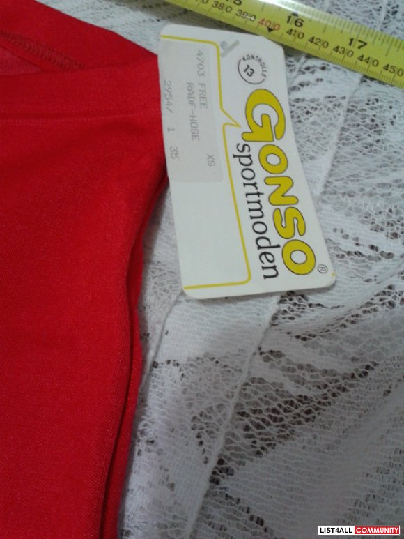 NWT Gonso Padded Cycling Bike Shorts XS Women REDUCED $10.00