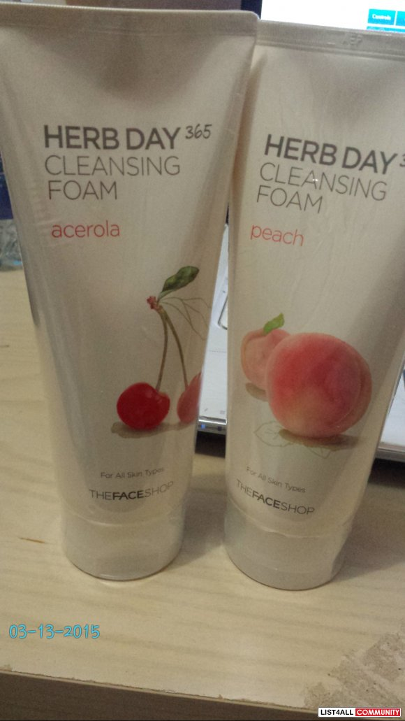 The Face Shop - Herb Day 356 cleansing foam