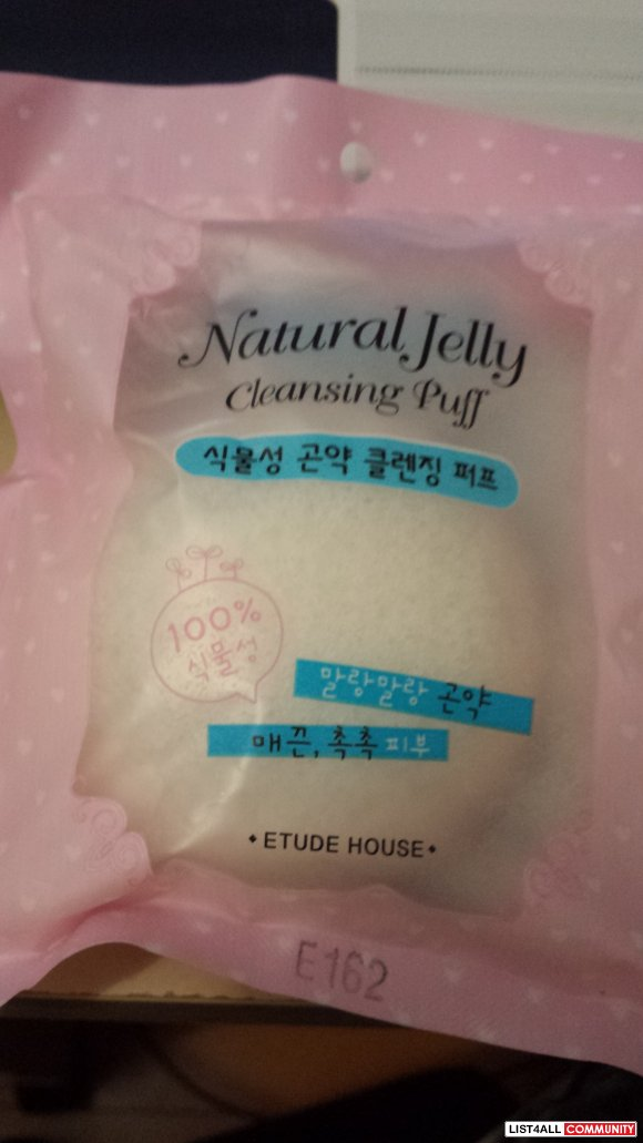 Etude House Natural Jelly Cleansing Puff