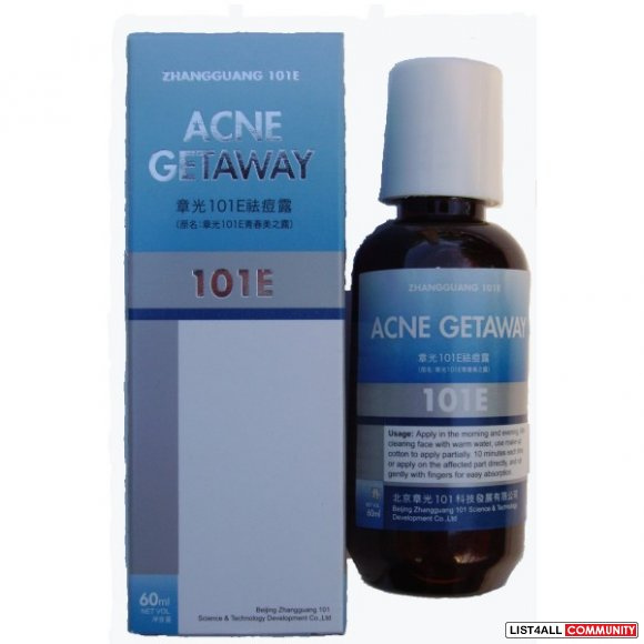 Traditional Chinese Herb:  101E Acne Getaway