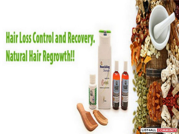 Treat Hair Loss With our Natural Hair Growth Products