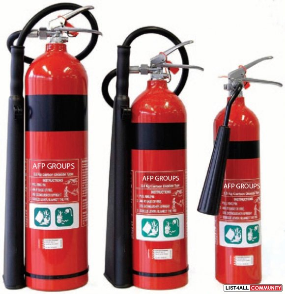 Get Your Fire extinguishers testing done today!