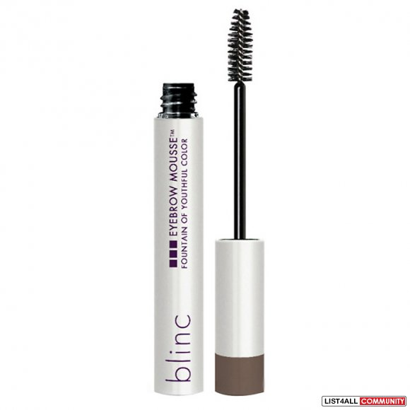 blinc eyebrow mousse in dark blonde