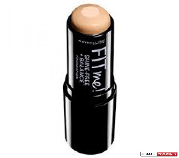 maybelline fit me foundation stick (use as contour stick)